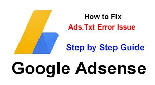 Ads txt fix solution
